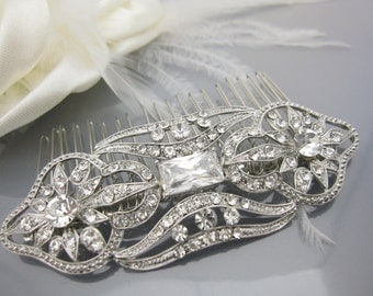 Wedding hair comb bridal hair comb wedding headpiece wedding haircomb wedding hair accessory wedding jewelry bridal accessory wedding comb