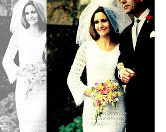 "Wedding Dress Pattern -  ""Wedding"" Dress PDF Pattern - Wedding Gown / Evening Dress Pattern"
