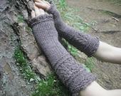 Fingerless Gloves, Knit Fingerless Gloves, Wool Fingerless Gloves, Wool Arm Warmers, Wrist Warmers, Knitted Gloves, Mori Girl, Mori Kei