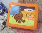 Scooby Doo Plastic Lunch Box