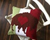 Buffalo Love Heritage Pillow