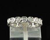 Sensational .75 Ct diamond full eternity ring