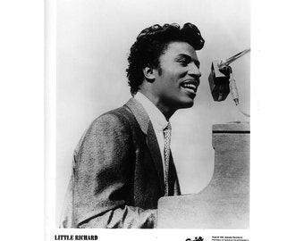Little Richard Publicity Photo 8 by 10 Inches