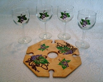 Goddess Wine Set, wiccan decor goddess decor pagan wicca witch witchcraft handfasting magic mystic goblet chalice altar new age metaphysical