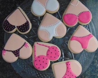 12 Lingerie Cookies