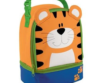 Personalized Stephen Joseph Tiger Lunch Box