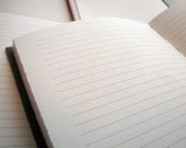 Add 64 pages to your custom lined leather journal
