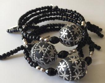 Black seed beads