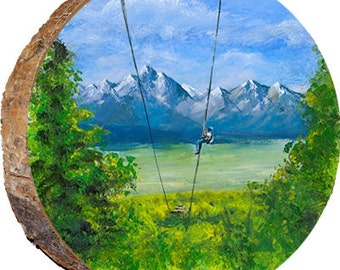 Zipline in the Mountains - DPS026