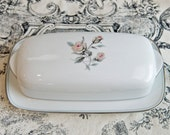 Noritake butter dish…Margot butter dish…Noritake covered butter server.