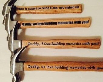 Personalized Hammer, perfect for Father's Day!