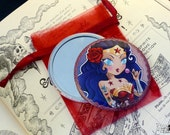 Wonder Woman pocket mirror sold with bag
