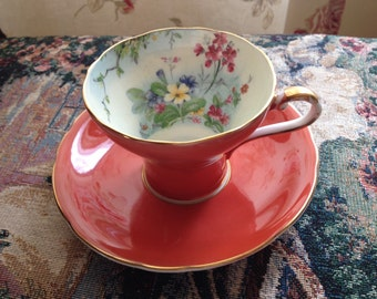 Gorgeous Aynsley Teacup and Saucer