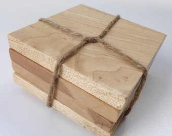 Wood Coasters, Maple