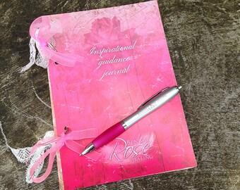 Angel Inspirational Guidance Journal and pen