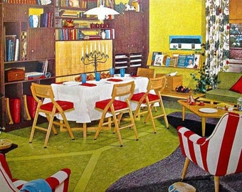 1955 How to Improve Your Home For Better Living MID CENTURY Modern Architect Design book