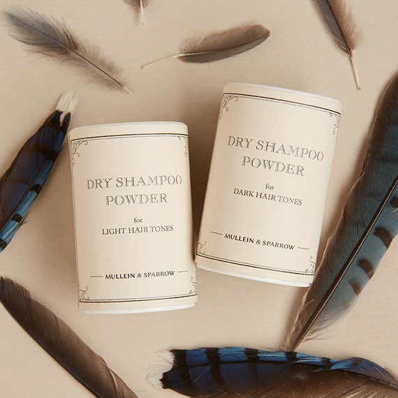Dry Shampoo for Dark Hair natural clay cocoa by
