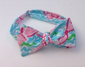 Lilly Pulitzer Fabric Bow Tie