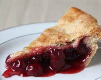 "Cherry Pie Homemade pie great holiday gift, gift for Mom, ""FREE SHIPPING"" handcrafted Cherry pie, Gourmet Cherry pie, Pie has Handmade Crust"