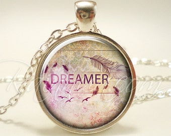 Bohemian Dreamer Necklace, Gypsy Pendant, Free Spirit Jewelry (1882S1IN)