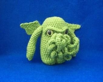 Crochet Cthulhu Amigurumi