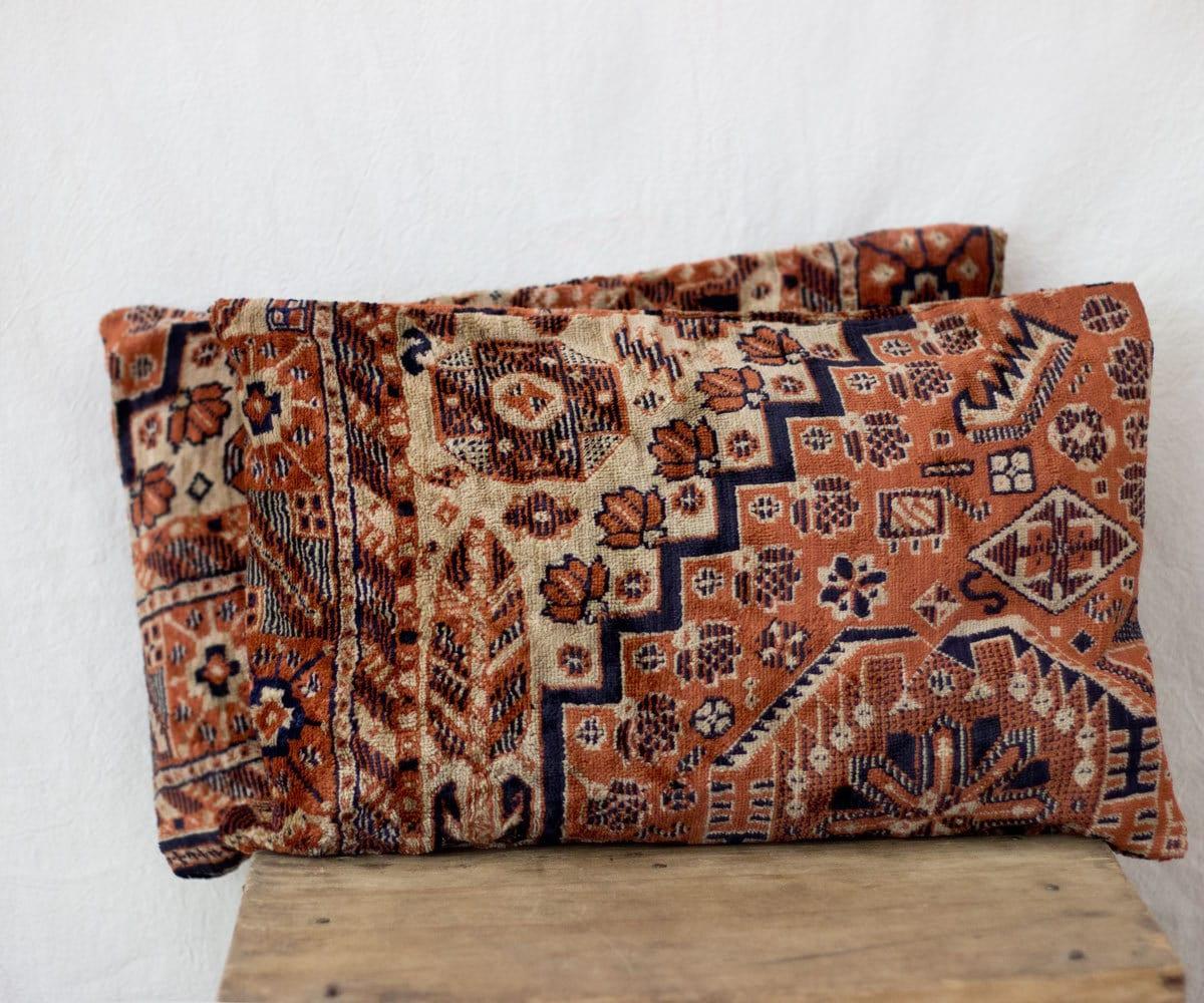 Velour Throw Pillows : velour pillows Uzbek pillow 12 x 18 TWO by MulberryWhisper