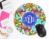 Custom Mouse Pad, Personalized Mouse Pad for Laptop, Monogrammed Coastal Computer Accessories
