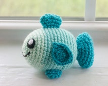 Fish Plush Toy - Choose Your Colors - Custom Made Crochet Fish