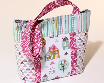 Sewing Pattern Petite Street Child's Tote Bag PDF Download PN8106