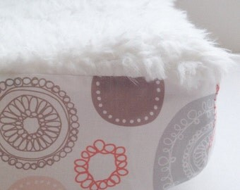The Yeti Pad, Faux Fur Designer Changing Pad Cover