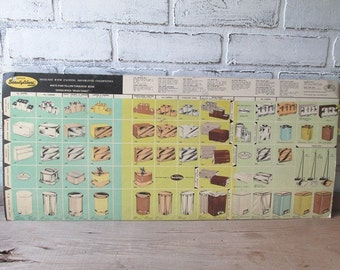 Vintage Store Display Lincoln BeautyWare Advertising