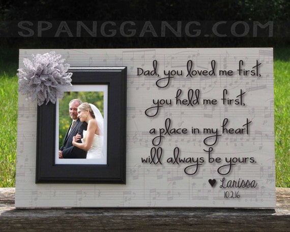 Wedding Gifts For Dad From Groom : Wedding gift for Dad of the Bride Groom, Father of the Bride, Thank ...