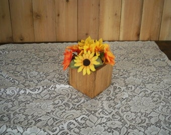 Decorative Wood Box,Decorative Wood  Center Piece, Center Piece, Wood Centerpiece, Decorative Centerpiece,Table Center Piece, Wood Box
