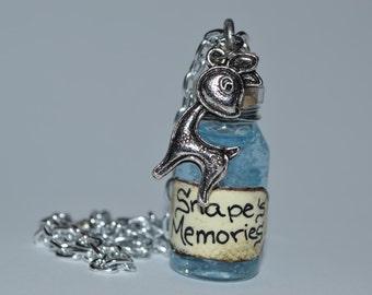 Snape's Memories Potion Necklace