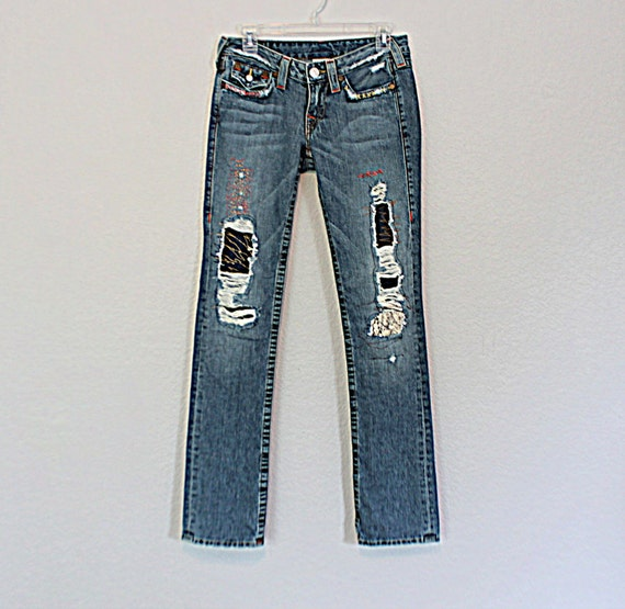 Up-cycled Jeans from  Reloved Clothing Co.