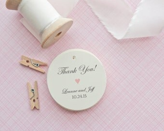 Gift Tags-Wedding Favors-Bridal Shower favors-Candy Bar Tags-Wedding Thank you Tags-Thank You Tags-Set of 40