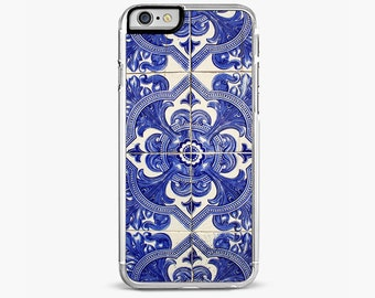 Blue Ancient Tiles IPHONE CASE, iPhone 6 / 6S cases, iPhone 6 / 6S PLUS case, iPhone 5/5S,  iPhone 5C case