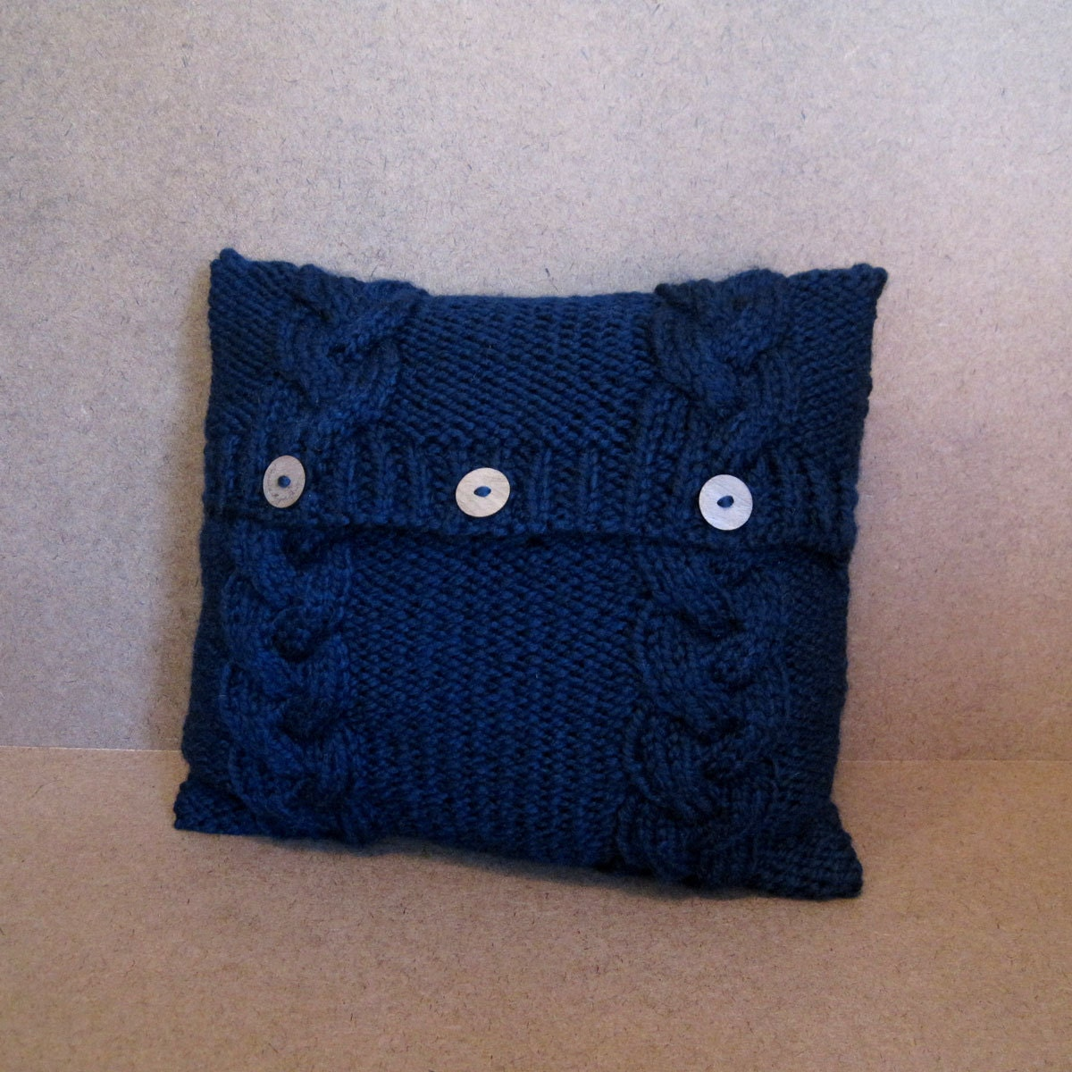 Chunky Knit Pillow Pattern : Chunky Knit Pillow Cover Textured Knit Pillow Case MADE TO