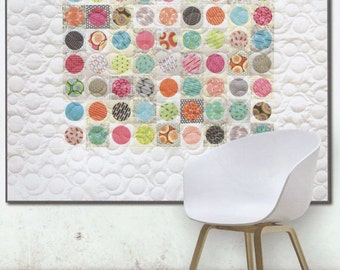 Pearls Quilt Pattern by Brigitte Heitland from Zen Chic