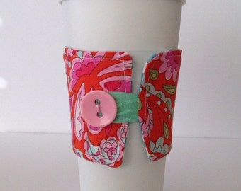 Coffee Cup Cozy, Coffee Cup Sleeve, Coffee Cozy, Reusable Coffee Sleeve, Coffee Sleeve, Coffee Cup Holder, Cozy,