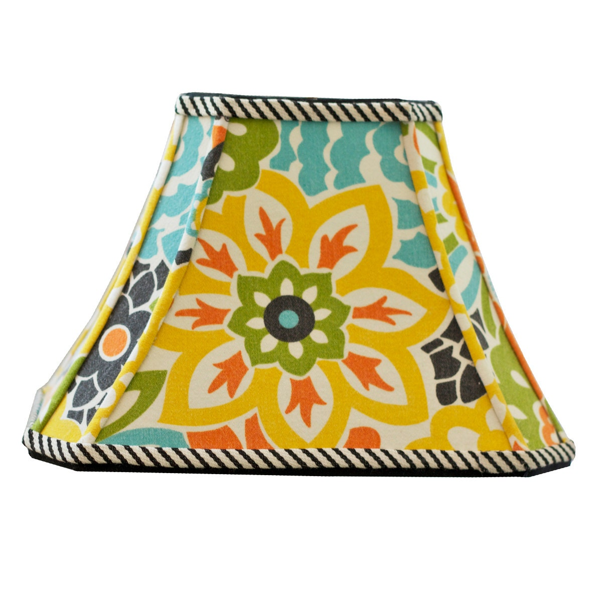 Flower Power Lamp Shade Boho Lamp Shade Perfect For