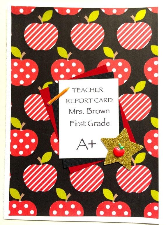 Teacher Thank You Card-from