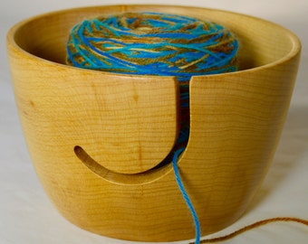 505 Yarn bowl, made from Hard Maple