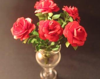 Kit de l'échelle 1 (01:12) miniature Dollshouse pour faire de belles roses