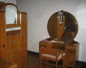 Items Similar To SALE Vintage 1930s Bedroom Furniture Set