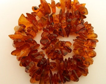 100% Natural Original AMBER Beads Necklace #190S