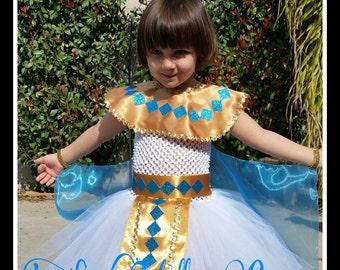 Cleopatra inspired tutu dress/Cleopatra Halloween costume/Egyptian tutu dress/Egyptian costume/Photo prop