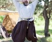 DISCOUNT! Linen Viking Pants; Men's Viking Pants; Linen Pants; Medieval Pants