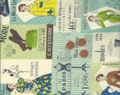 Fashion Cheater Print Col B by Suzuko Koseki for  Yuwa of Japan