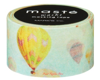 Balloon Japanese Washi Tape Masking Tape Deco Tape (MST-MKT53-A) Price depends on order volume.Buy other items together for BETTER price.
